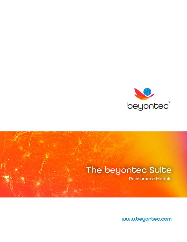 Reinsurance Brochure